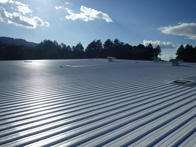 画像:T社様 屋根塗装工事