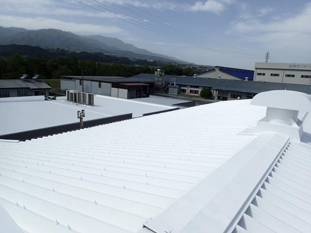 画像:K社様 屋根塗装工事